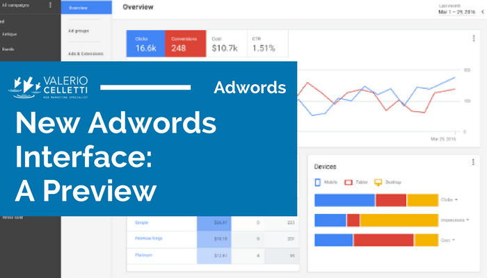 New Adwords Interface: A Preview